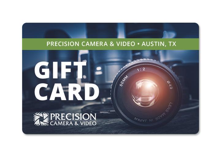 Precision Camera Gift Card